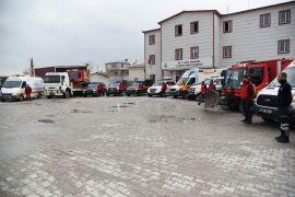 112 Acil Servis ekipleri zorlu kış görevine hazır
