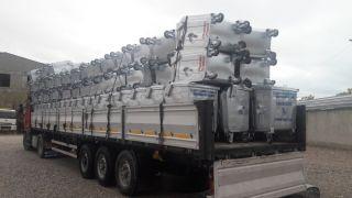 Bakanlıktan Tuşba Belediyesine çöp konteyneri desteği