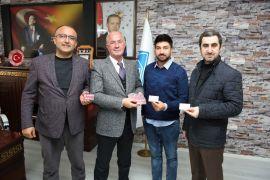 Başkan Akman'dan Vanspor Futbol Kulübüne destek