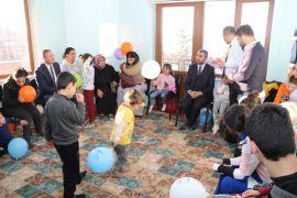 Başkan Say'dan rehabilitasyon merkezine ziyaret