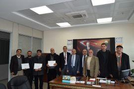 EKÜY üreticilerine sertifikaları verildi