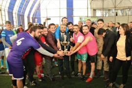 Edremit'te 'Mahalleler Arası Futbol Turnuvası' sona erdi