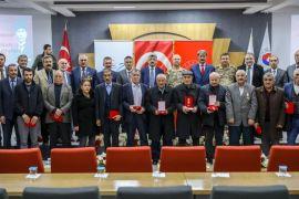 Kıbrıs gazilerine madalya tevcih töreni düzenlendi