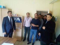 Müdür Sünnetçioğlu, ilçe ziyaretlerini sürdürüyor