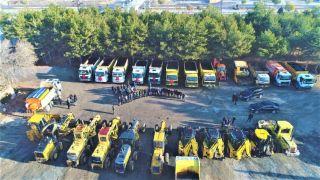 Tuşba Belediyesi'nin, 'Karla mücadele ekibi' göreve hazır