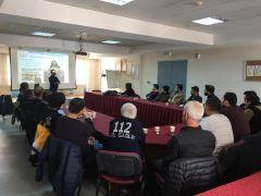 Van'da 112 sağlık çalışanlarına tıbbi farkındalık KBRN eğitimi