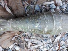 Van'da 2 adet roketatar mühimmatı ele geçirildi