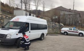 Van'da jandarmadan kış lastiği denetimi