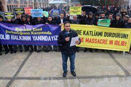 Van SDİ, İdlib'te devam eden olayları kınadı