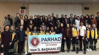 """Van YYÜ'de """"Paramediklerin Mesleki Gelişim"""" konulu panel"""