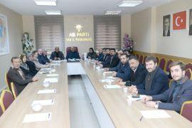 AK Parti'den yeni ilçe başkanlarını karşılama hazırlığı