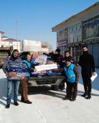 Çaldıran Belediyesinden depremzedeler için yardım kampanyası