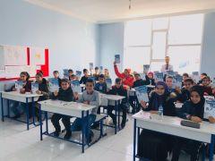 Çözüm Kolejinde bursluluk sınavı heyecanı