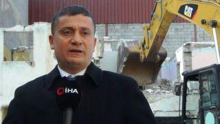 Erciş'te 223 adet metruk bina yıktırılıyor
