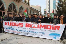 Van'dan ABD ve İsrail'e tepki
