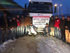 Van OSB'den Elazığ ve Malatya'ya destek