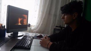 18 yaşındaki gençten kısa filmli korona virüs mesajı