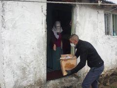 Çaldıran Belediyesinden bin aileye Ramazan yardımı