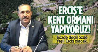 """Milletvekili Arvas: """"Kent ormanı ile doğaya ve insana yatırım yapıyoruz"""""""