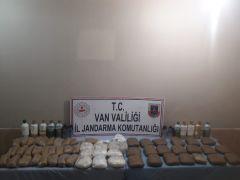 Başkale'de 54 kilo uyuşturucu ele geçirildi
