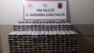 Çaldıran'da 5 bin paket kaçak sigara ele geçirildi