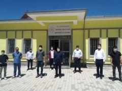 Sağlık Müdürü Sünnetçioğlu, Saray'daki sağlık tesislerinde incelemede bulundu