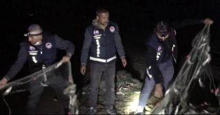 Van'da 2,5 ton kaçak avlanmış inci kefali ele geçirildi
