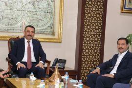 Tatvan heyetinden Siirt Valisi Hacıbektaşoğlu'na ziyareti