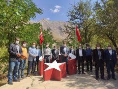 AK Parti Bahçesaray ilçe teşkilatının ziyaretleri