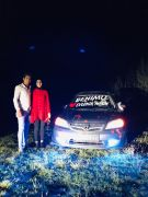 Arabası sayesinde tanıştığı kıza sürpriz evlilik teklifi