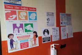 Başkale'de okullar yüz yüze eğitime hazır