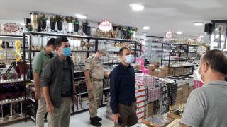 Belediye Başkan Vekili Aslan, korona virüs denetimlerine katıldı