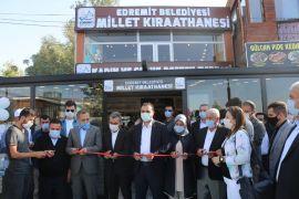 Bölgenin ilk 'Millet Kıraathanesi' hizmete açıldı