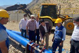 Çatak'ta içme suyu revize çalışmaları devam ediyor
