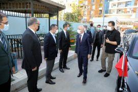 İçişleri Bakan Yardımcısı Erdil, İpekyolu Belediyesi'ni ziyaret etti