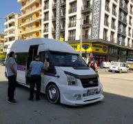 İpekyolu ilçesinde şehir içi toplu taşıma araçları denetlendi