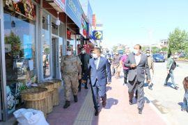 Kaymakam Mehmetbeyoğlu'ndan korona virüs denetimi