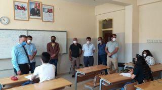 Müdürü Şipal'in okullardaki inceleme ve denetlemeleri devam ediyor