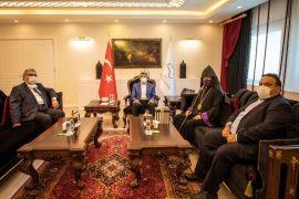 Türkiye Ermeni Patriği Maşalyan, Vali Bilmez'i ziyaret etti