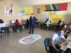 Van'da 101 okulda 140 EBA destek noktası oluşturuldu