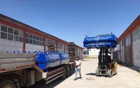 Van Büyükşehir Belediyesinin sıvat dağıtımı devam ediyor