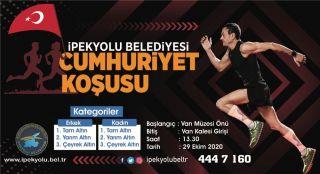 İpekyolu Belediyesinden ödüllü 'Cumhuriyet Koşusu'