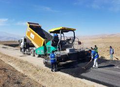 Van Büyükşehir Belediyesi Taşkonak Mahalle yolunu asfaltlıyor