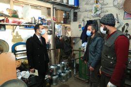 Başkan Vekili Aslan'dan Sobacılar Çarşısı esnafına ziyaret