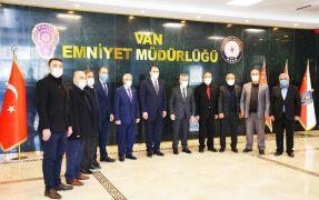 VANESOB'tan Emniyet Müdürü Karabağ'a ziyaret