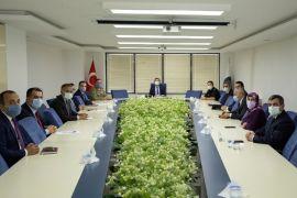 İpekyolu'nda 'İlçe İdare Şube Başkanları Toplantısı' yapıldı