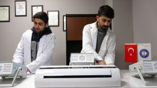 Korona virüsü yok eden cihaz Van'dan 4 ülkeye ihraç edildi
