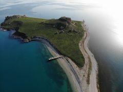 (Özel haber) Van Gölü'nün el değmemiş güzelliği 'Çarpanak Adası' baharla bambaşka güzel