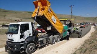 Van'da ilk beton yol yapımı gerçekleştirildi