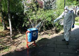 Van'daki toplu yaşam alanları tek tek dezenfekte ediliyor